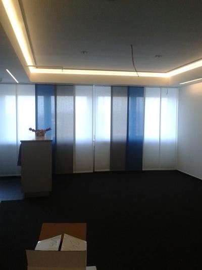 Flächenvorhänge von Schulz & Kühnapfel Raumgestaltung aus Gettorf bei Kiel