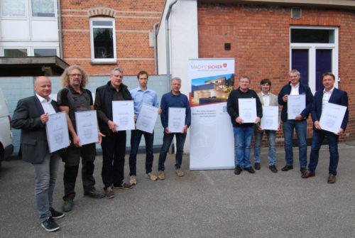 Die Machs-Sicher Kompetenzgemeinschaft Aus Kiel - Sicherheit Und Einbruchschutz SH