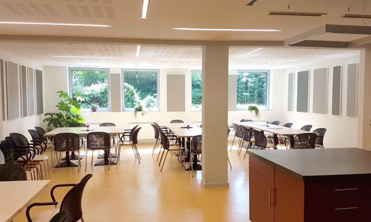 Akustikelemente Für Einen Aufenthaltsraum - Schulz & Kühnapfel Trockenbau Aus Gettorf Bei Kiel